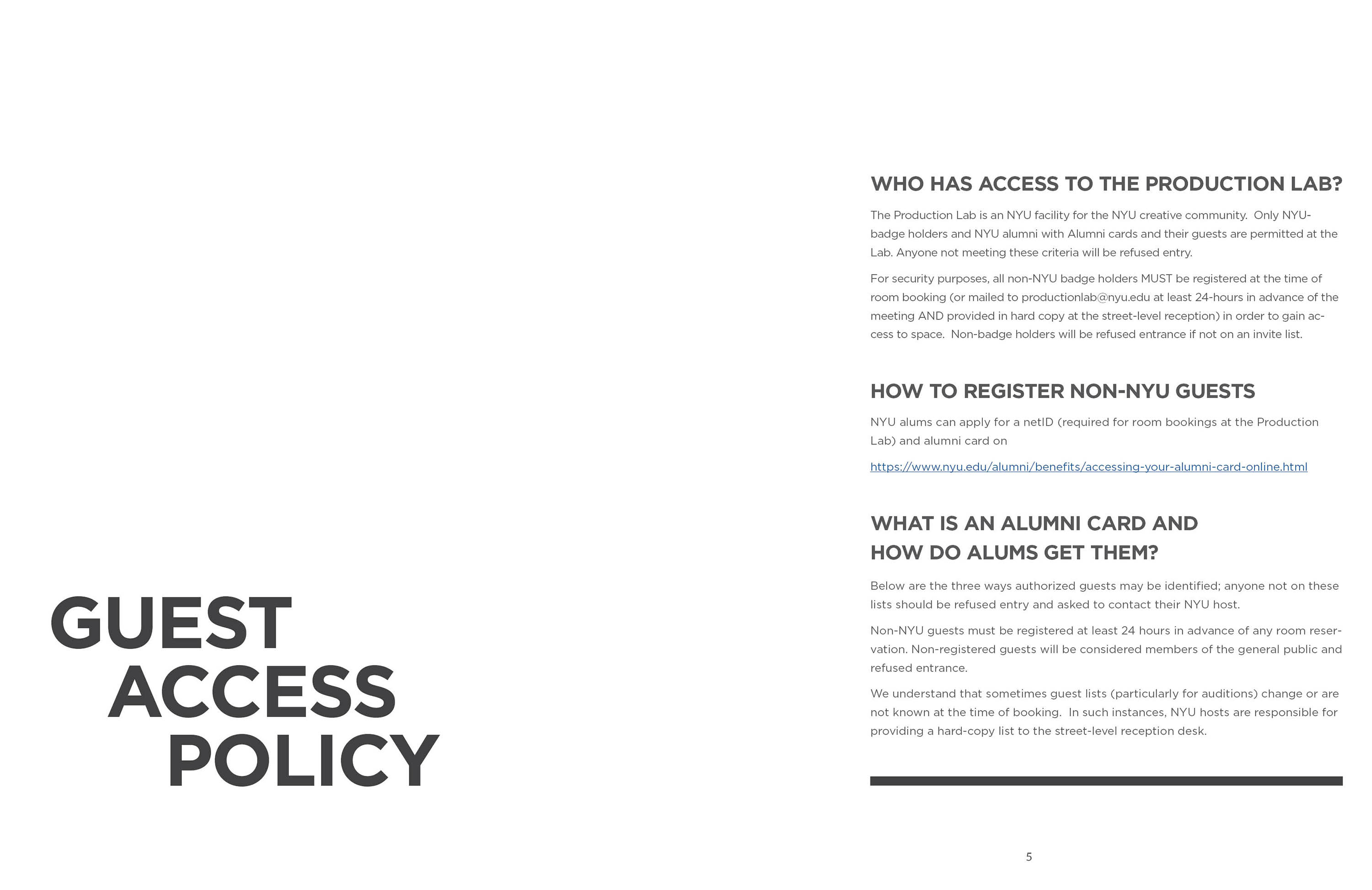 guest access policy
