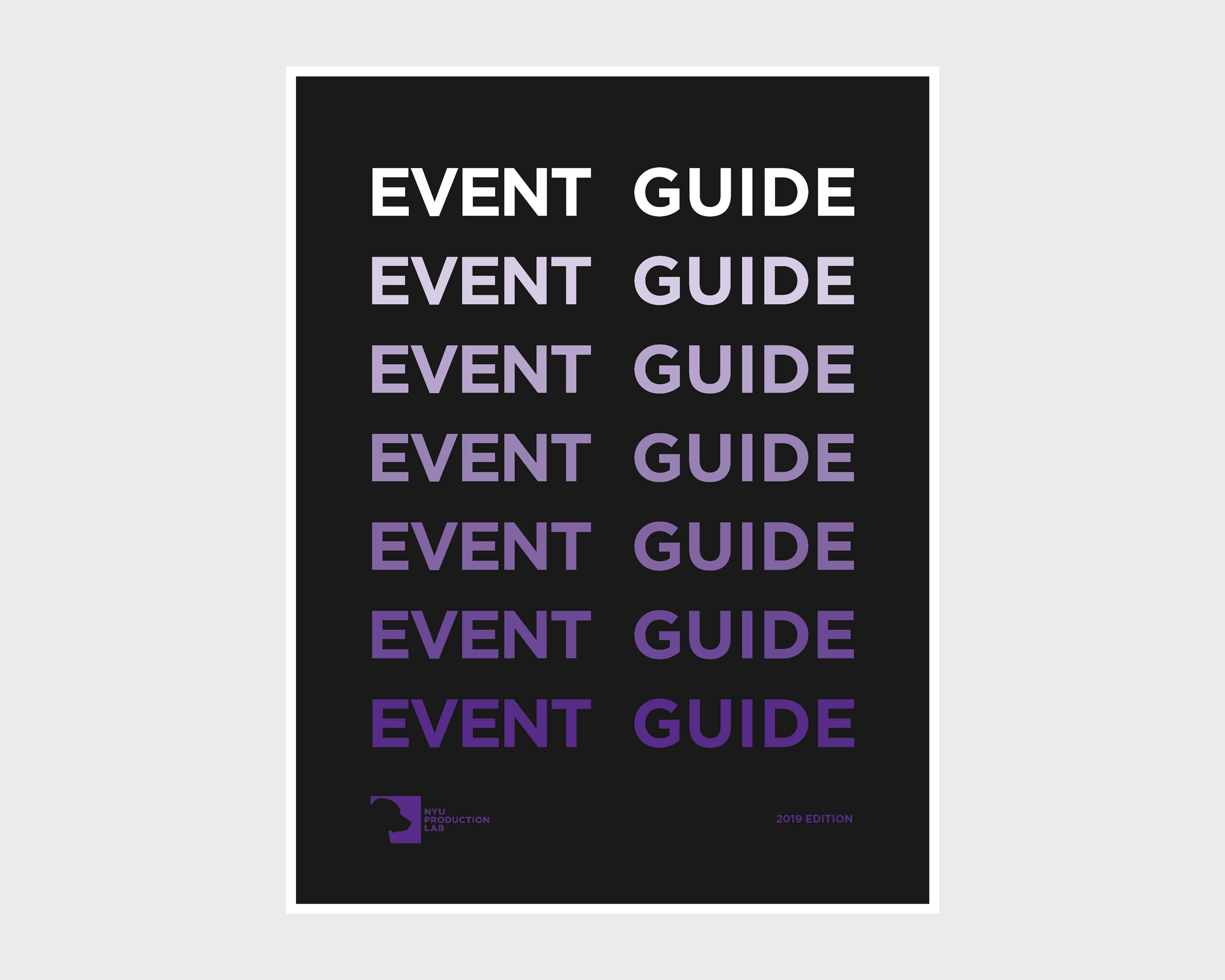 the event guide cover